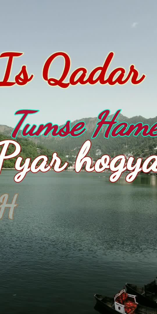 Is qadar tumse hame pyar ho gya   #trendingchannel #lovesong #love-status-roposo-beats #statuswhatsapp #statusvideo-download #roposo-beats