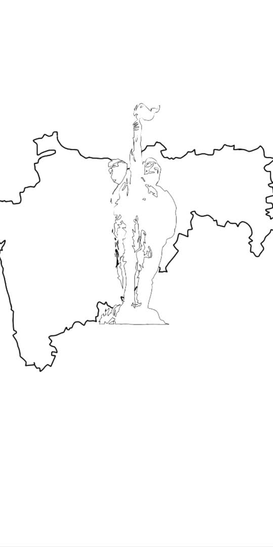 #garjamaharashtramaza #art #digitalart #maharashtra  #creativespace #marathi #artist #abhiraje 🚩
