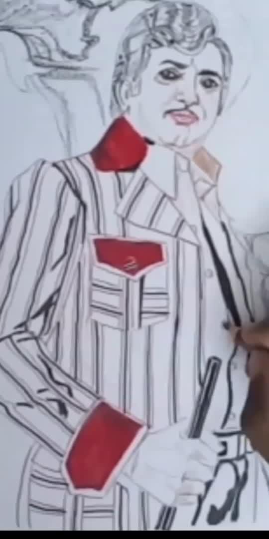 తారక రాముడి..ఙ్ఞాపకాలతో..art video2..#roposobeatschannel #roposocreativespacechannel #roposofilmistanchannel #roposodrawings #roposodrawmagic
