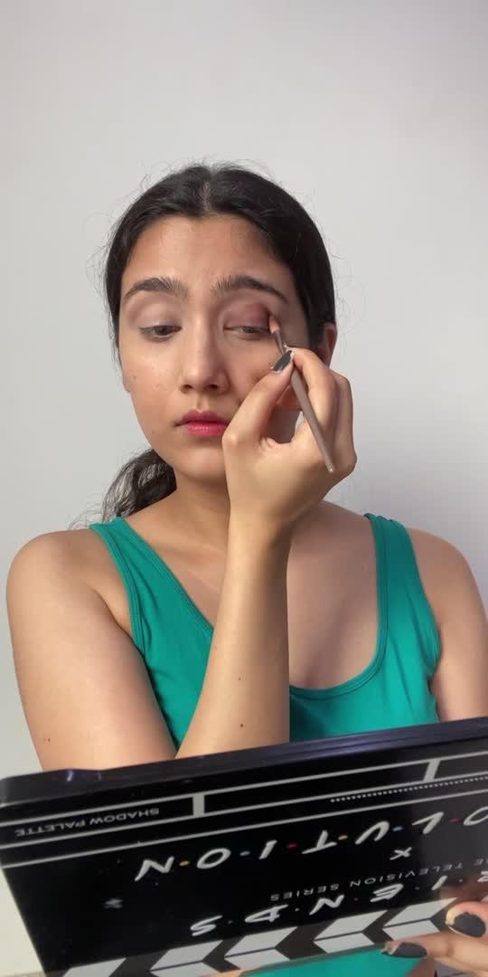 Unfiltered !  #makeup #makeuptutorial #transition #green #roposocreator