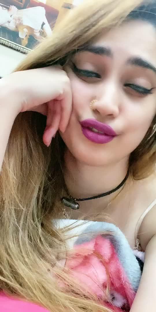 #punjabi #fun #gorgeous #blonde #nosering #foryou #punjabisong #beatschannel #roposostar #wingedliner #pinklips #beauty #longhair