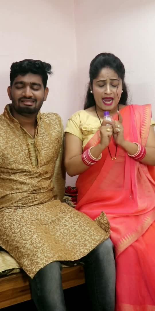 बिवी के ड्रामा तो देखो..😝😝#comedy #funnyvideo #husbandand-wife-comedy #couplecomedy