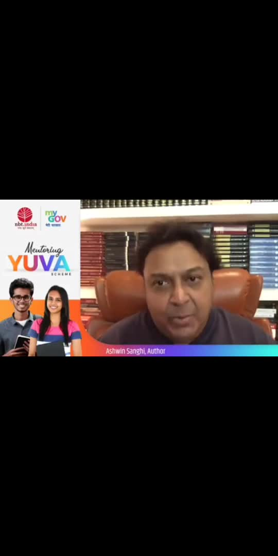 Looking for inspiration on how to write better? Listen to the fiction-thriller writer, Ashwin Sanghi, share his journey & experience of writing books.  Don't forget to participate in PM's #MentoringYUVASchemehttps://innovateindia.mygov.in/yuva/