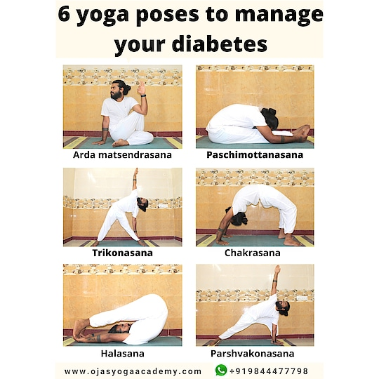 Yoga for diabetes  -------------------------- #yoga for diseases Module - 2 by @yogabandu_prashanth #ojasyogaacademy ,  There are many techniques and  remedies to heal this problem naturally here we mention simple postures to heal or prevent #diabetes  *Note: Learn and practice yoga by guidance through your yoga teacher or #guru .  #yoga for diseases Module - 2 by @yogabandu_prashanth #ojasyogaacademy  #diabetesawareness #diabetic #diabetesdiet #diabetestip  #yogafordiabetes  #yogablogger #yogabandhuprashanth #practicedaily #instayoga #yogatips #easyyoga #staypositive  #behealthy