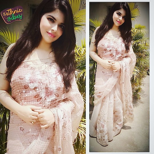#indianwear #saree #roposofashiondiaries #soroposostylefiles #sunkissedlook #summer19 #ethnicvibes