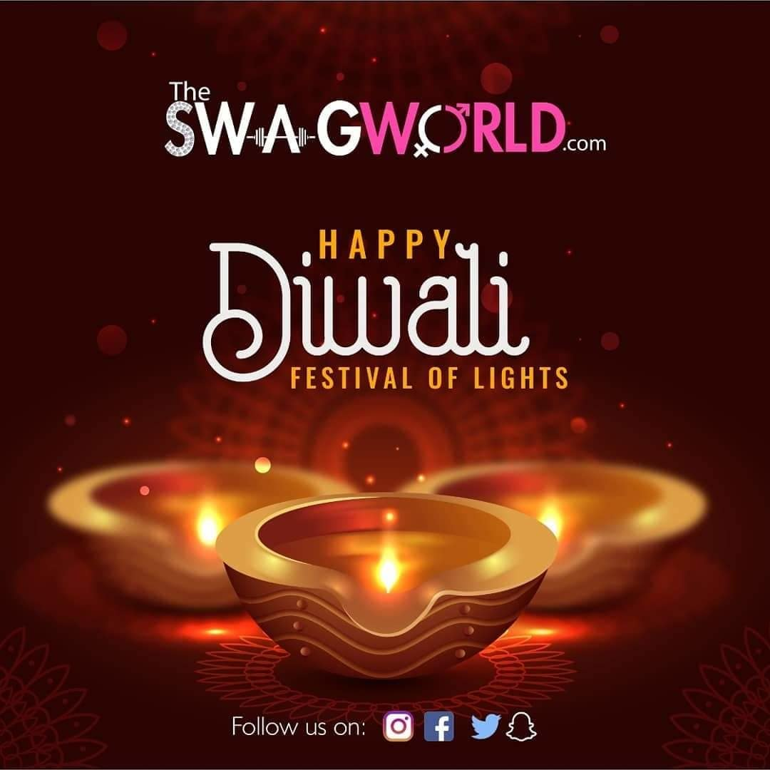 happy diwali . www.theswagworld.com