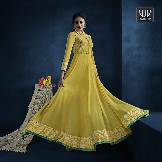 Buy Now @ https://bit.ly/3ccHBL6  .   Modest Yellow Georgette Net Desigenr Anarkali Suit  .  Fabric - Georgette, Net  .  Product No 👉 VJV-MONI11048  .  #salwarsuit #punjabisuit #punjabisalwar #salwarkameez #designersalwarsuit #ethnicsalwarsuit #anarkalisuit #traditionalsalwarsuit #casualsalwarsuit #festivalsalwarsuit #latestsalwarsuit #bridalsalwarsuit #pantstylesalwarsuit #partywearsalwarsuit #puresilksalwarsuit #embrioderysalwarsuit #printedsalwarsuit #fancysalwarsuit