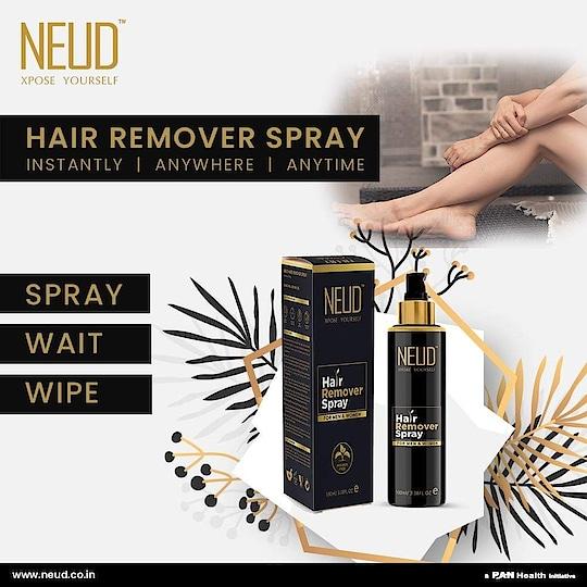 Remove body hair INSTANTLY ANYWHERE ANYTIME! Buy Now  NEUD: https://bit.ly/3dRv14l  Amazon: https://amzn.to/2UU1fmI  Flipkart- https://bit.ly/2UIZg61  #NEUD #MakeItLast #hairremoverspray #hairremoval #waxing #skincare #beauty #laserhairremoval #wax #wawawax #laser #organichairremoval #norahwax #brazilianwax #hairfree #hairremovalwax #ipl #bodywaxing #smoothskin #skin #buangbulu #hardwax #facial #esthetician